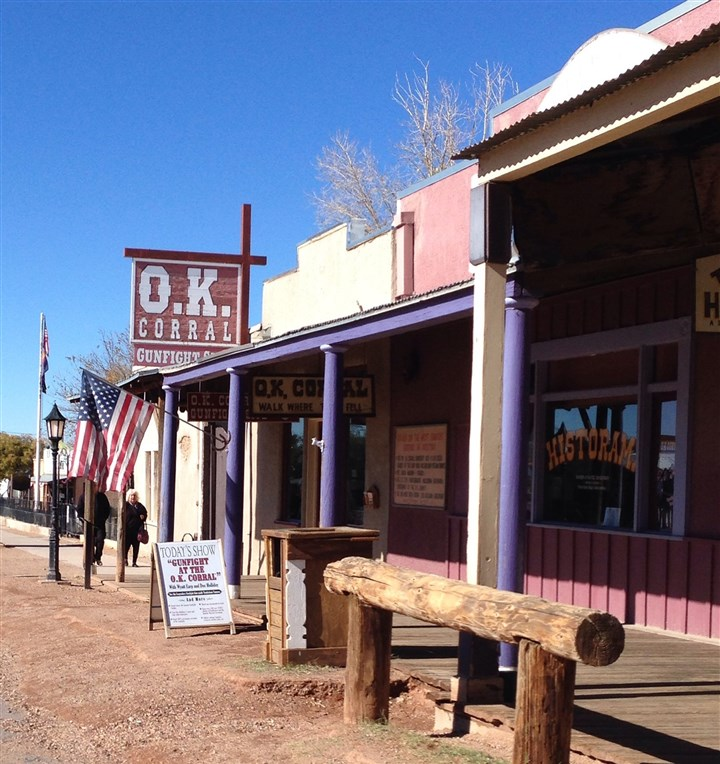 OK Corral OK Corral in Tombstone as seen from Allen Street.