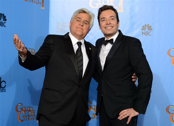 Leno/Fallon Jay Leno and Jimmy Fallon.