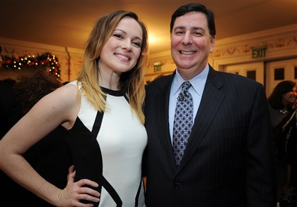 Peduto Mayor Bill Peduto with date Caitlin Lasky.