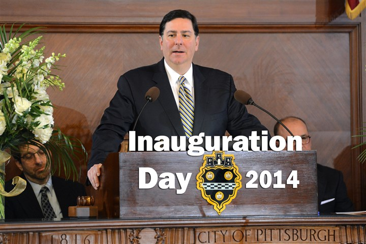 Peduto speaks to council on Inauguration Day Mayor-elect Bill Peduto addresses Pittsburgh City Council hours before being sworn in as the new mayor Monday.