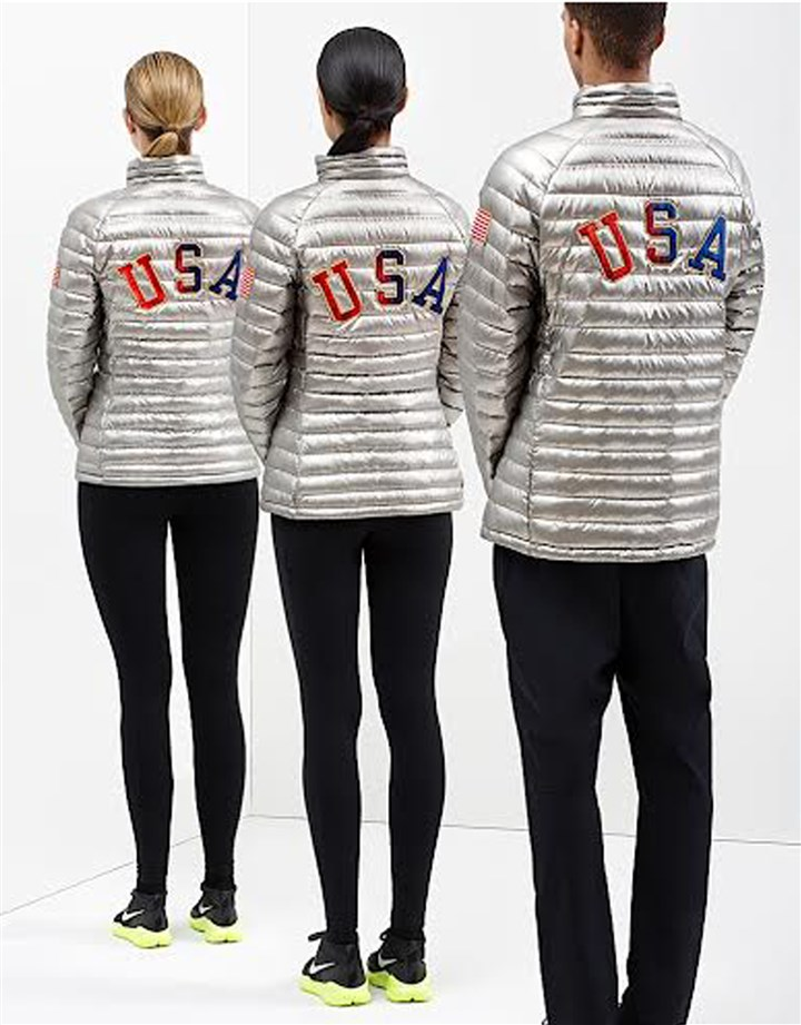Nike Nike designed the apparel and footwear Team USA athletes will wear on the medal stand at the Olympics in Sochi.
