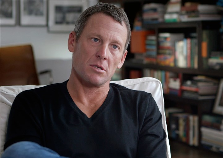 "TheArmstrongLie1-9 Lance Armstrong in ""The Armstrong Lie."""