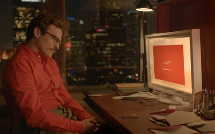 "Her Joaquin Phoenix as Theodore in the romantic drama ""Her,"" directed by Spike Jonze."