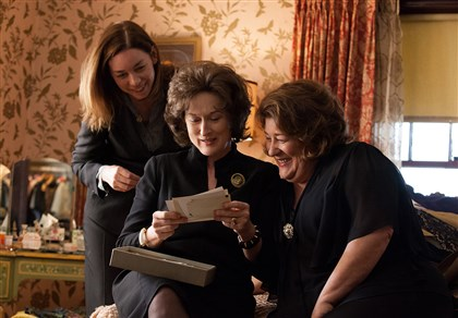 AUGUST: OSAGE COUNTY From left, Julianne Nicholson, Meryl Streep and Margo Martindale.