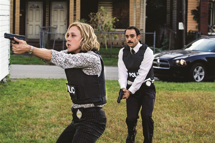 "ThoseWhoKill1-2 Chloe Sevigny and Omid Abtahi star in the new A&E original scripted drama series ""Those Who Kill,"" which will premiere March 3. The show is set in Pittsburgh and was filmed here in 2013."