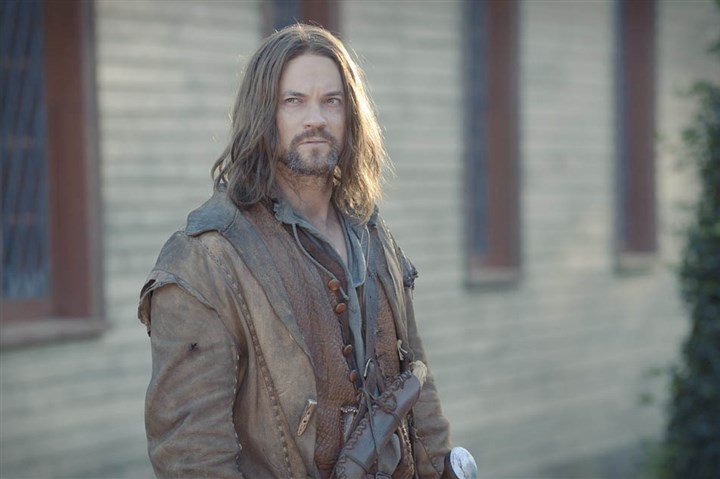 "Shane West in ""Salem"" Shane West portrays John Alden in ""Salem,"" WGN America's first original scripted series, premiering in April."