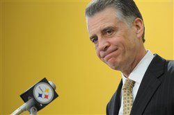 """The application is an early step in the bidding process,"" Steelers president Art Rooney II said in a statement."