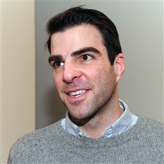 "20140113MagChair04-3 Zachary Quinto returns to Pittsburgh Feb. 3 to host event at Point Park University, which will be home to the documentary series ""The Chair."""