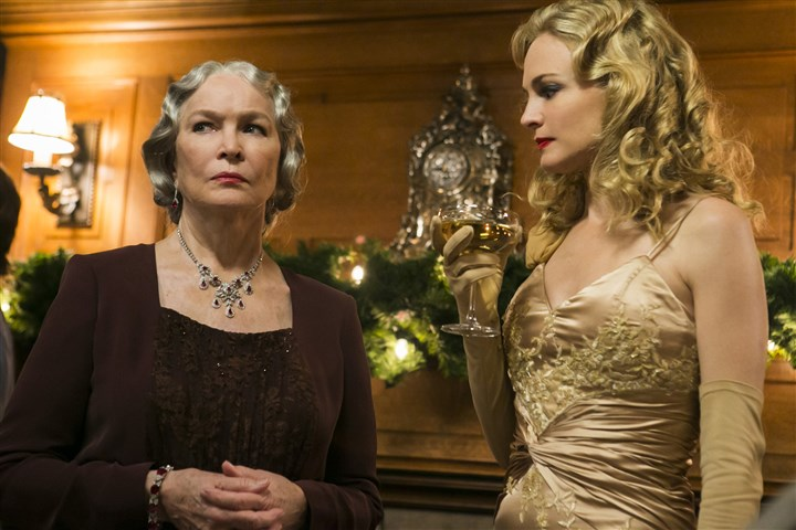 "2014 ""Flowers In The Attic"" Ellen Burstyn, left, and Heather Graham star in the Lifetime Original Movie ""Flowers in the Attic."""