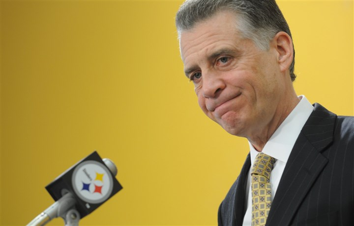 "20140114rooney3 ""I'm not sure I have ever really seen a season quite like it in terms of injuries,'' Steelers president Art Rooney II told a small group of reporters."