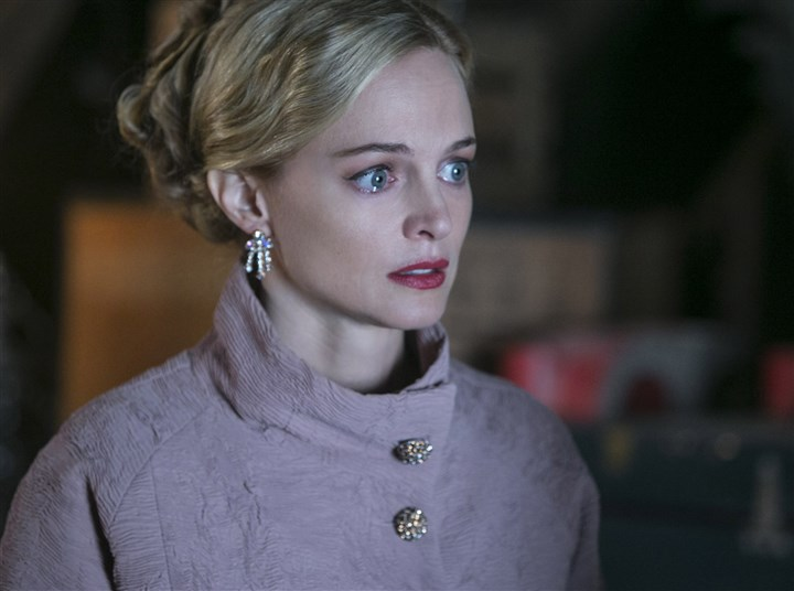 "2014 Heather Graham in ""Flowers in the Attic"" Heather Graham stars as Corrine Dollanganger in ""Flowers in the Attic."""