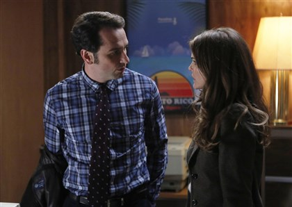 "Americans From left, Matthew Rhys as Philip Jennings, Keri Russell as Elizabeth Jennings in ""The Americans."""