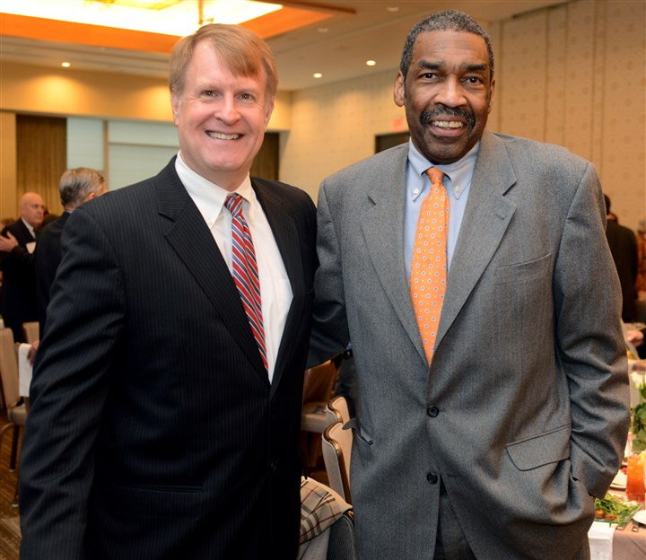 2014114RARseenluncheon7-6 Rich Fitzgerald and Bill Strickland.