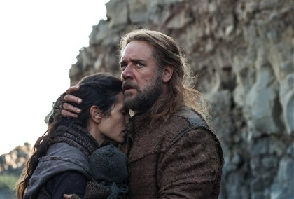 "NOAH Jennifer Connelly and Russell Crowe star in ""Noah."""
