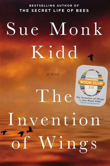 """The Invention of Wings"" book cover Sarah Grimke was one of the most famous (or infamous) women of the 19th century, but who was she beneath her Quaker garb and progressive views? An answer can be found in the pages of Sue Monk Kidd's new novel ""The Invention of Wings."""