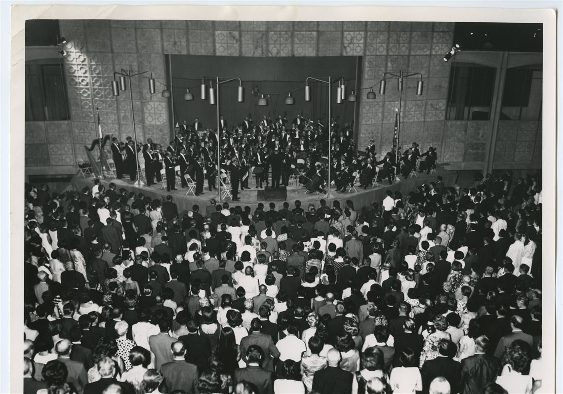 The Pittsburgh Symphony Orchestra Performs In Tehran August 1963