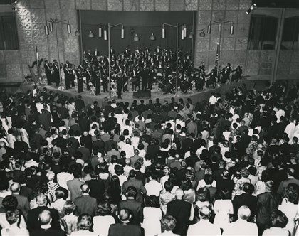 Pittsburgh Symphony Orchestra, Tehran, 1964 The Pittsburgh Symphony Orchestra performs in Tehran in August 1963.