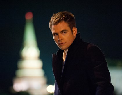 "JACK RYAN: SHADOW RECRUIT Chris Pine is Jack Ryan in ""Jack Ryan: Shadow Recruit."""
