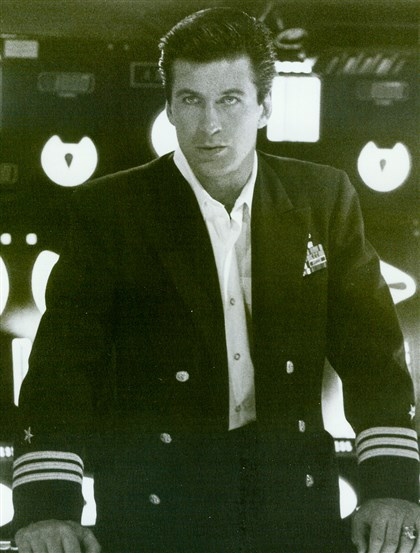 "Alec Baldwin ""The Hunt for Red October"" stars Alec Baldwin as CIA analyst Jack Ryan. 1990"