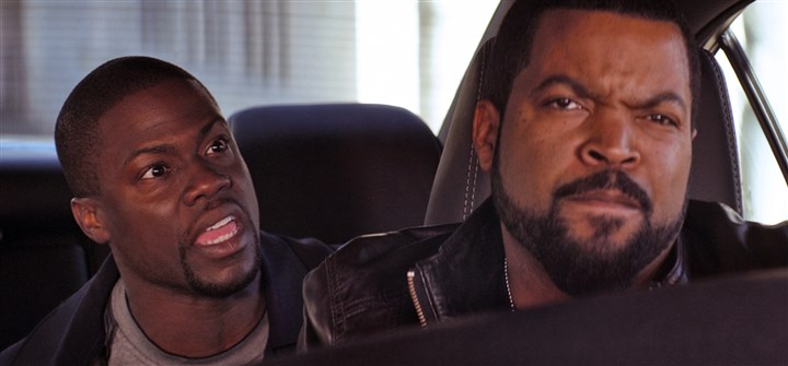 "Ridealong Kevin Hart and Ice Cube lead the lineup in ""Ride Along."""