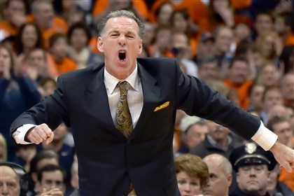 Jamie Dixon Pitt Pitt coach Jamie Dixon argues a call against his team late in the first half against Syracuse at the Carrier Dome Saturday. Dixon received a technical foul.