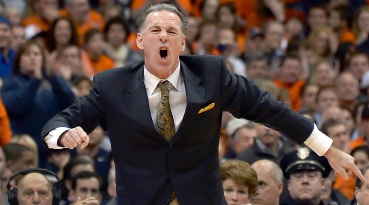 Jamie Dixon Pitt head coach Jamie Dixon argues a call against his team late in the first half against Syracuse at the Carrier Dome Saturday. Dixon received a technical foul.