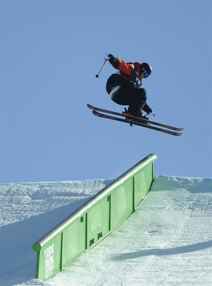 Gus Kenworthy Gus Kenworthy finished second Saturday on day two of the U.S. Freeskiing Grand Prix in Park City, Utah.