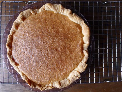"Vinegar Chess Pie Vinegar Chess Pie from ""The Hoosier Mama Book of Pie."""