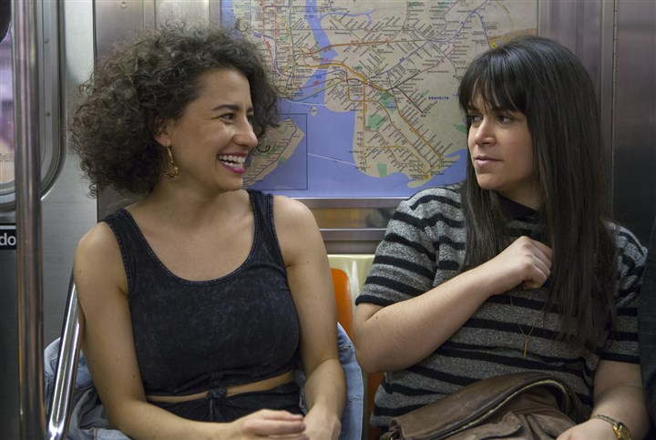 "BroadCity Ilana Glazer, left, and Abbi Jacobson, stars and creators of Comedy Central's ""Broad City."""