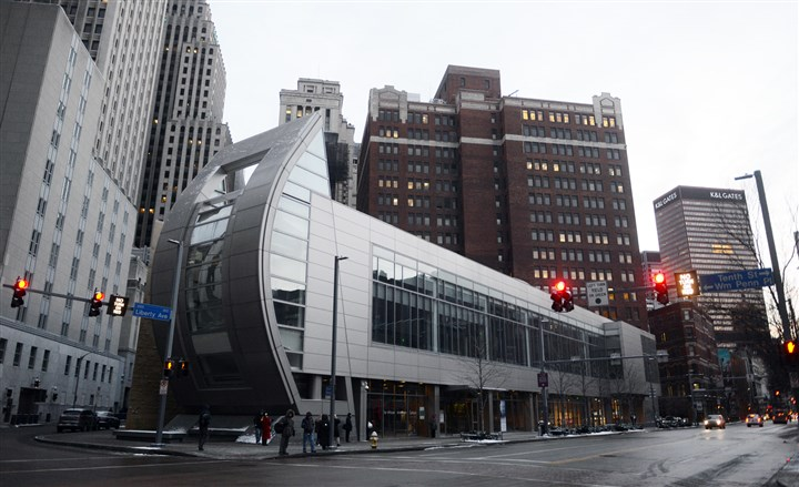 August Wilson Center, 2014 The August Wilson Center will be sold to pay off debts.