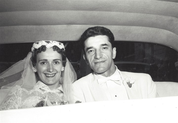 Mary Ann and Michael Mervosh Mary Ann and Michael Mervosh on their wedding day in 1957.