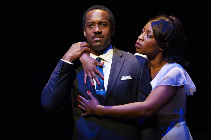 "'The Mountaintop' Albert Jones, Bianca LaVerne Jones Albert Jones, Bianca LaVerne Jones in ""The Mountaintop."""