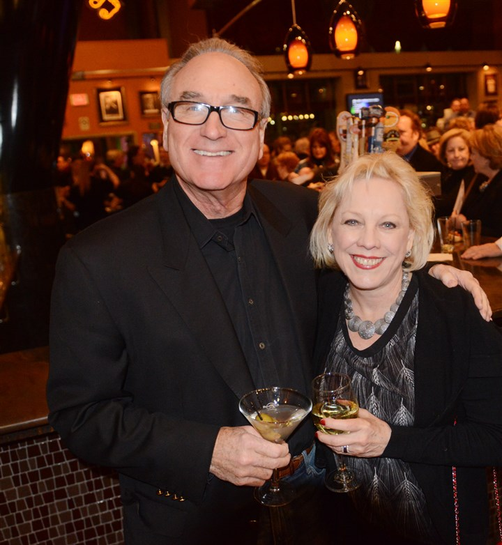 2014pghrockhalloffame Steve and Judith Thomas.