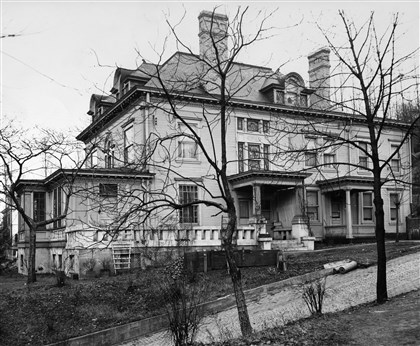 Mesta mansion in West Homestead, file Mesta Mansion in West Homestead. Undated. Scan from PG Archives