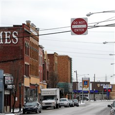 Chartiers Avenue A change in the traffic pattern is proposed for Chartiers Avenue in McKees Rocks as part of a plan to revitalize the business district.