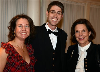 2014Burns Dawn and Chris Fleischner, and Barbara Tucker.
