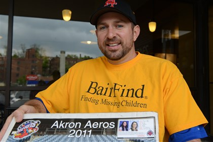 BairFind Dennis Bair advertised the faces of missing Cleveland women Amanda Berry and Gina DeJesus for years as part of the foundation he created to search for missing children.