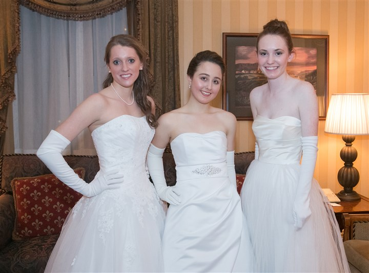 Cinderella From left, Caroline Ellis, Julia Granito and Caroline Sanford.