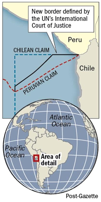 Ruling by U.N. resolves Chile-Peru fishing spat