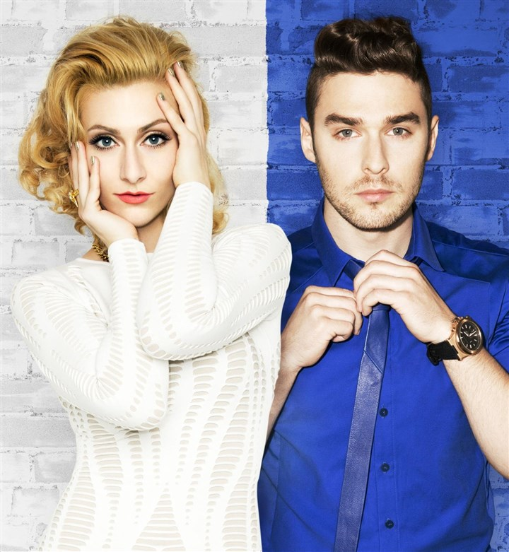 20140127Karmin-3 Pop duo Karmin: Amy Renee Heidemann and Nick Noonan.