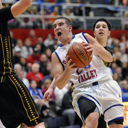 mcconnell0212 Matty McConnell and Chartiers Valley earned the top seed in the boys Class AAA bracket Tuesday night.
