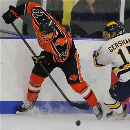20140127mfbethelsports.jpg Bethel Park's Christian Siak has scored 22 goals in 13 games this season.