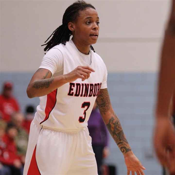 20140124hoDarche1zspts.jpg Since Darché Jackson returned to the lineup after an injury, Edinboro has gone on a nine-game winning streak and is 8-0 in the Pennsylvania State Athletic Conference.