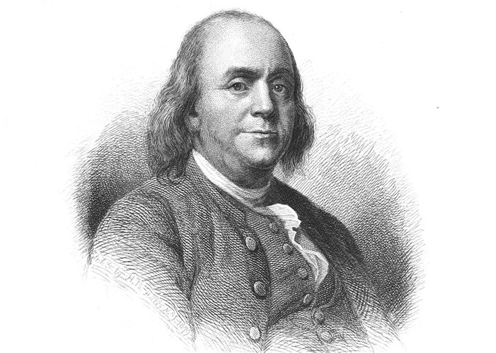 Benjamin Franklin Benjamin Franklin was one of the first presidents of the Pennsylvania Abolition Society, even though he continued to own slaves until late in his life.