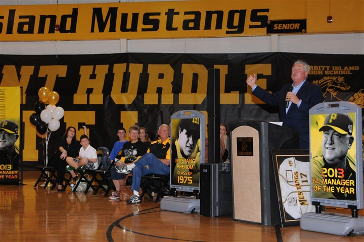 hurdle0201 After starring at Merritt Island High School in the mid-1970s, Clint Hurdle went on to become a first-round MLB draft pick.