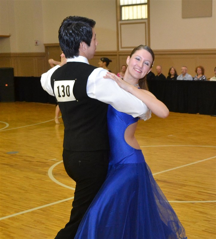 dancesport2-6 Participants compete in the last year's Steel City Classic DanceSport at the St. Nicholas Greek Orthodox Cathedral, Oakland.