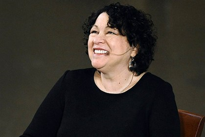 FRE U.S. Supreme Court Justice Sonia Sotomayor speaks Monday at Yale University.