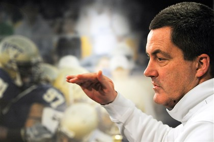 20140205rldPittPlayers03-17 Pitt football coach Paul Chryst.