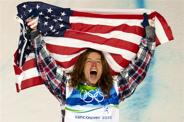 "Sochi Olympics Shaun White ""Who will be the breakout star in the Olympics for the Americans?"" one reader wants to know. Pictured is multi-medalist Shaun White celebrating a gold win in Vancouver in 2010."