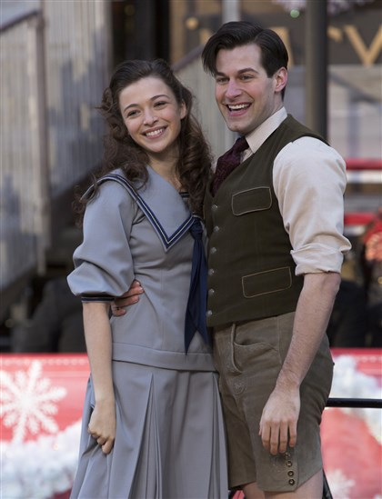 20140212MichaelCampaynoRolf-1 Ariane Rinehart as Liesl, Michael Campayno as Rolf in last year's Macy's Thanksgiving Day Parade.
